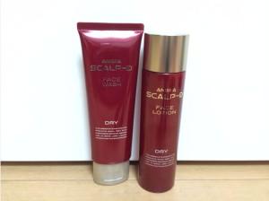 スカルプD洗顔フォームと化粧水